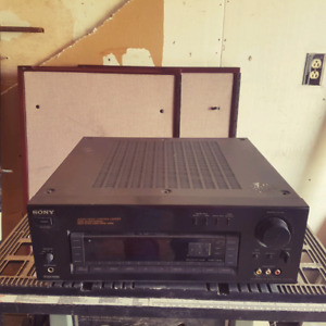 Amplificateur, Receiver, Amplifier, Sony