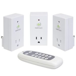 Ivation Programmable Wireless Remote Control 110V AC Plug 3 pack