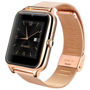 Bluetooth Stainless Smart Watch Phone
