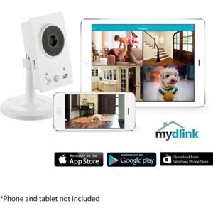 D-Link HD Wi-Fi Camera with Remote Viewing