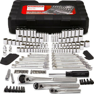 CRAFTSMAN 165-Piece Standard & Metric Mechanic's Tool Set