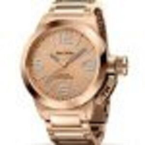 TW Steel Canteen Rose Dial Rose Gold-plated Unisex Watch TW303