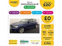 BMW 118 2.0 auto 2009MY i M Sport £20 PER WEEK