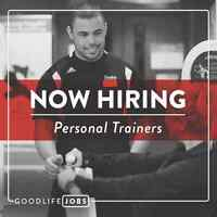 NOW HIRING - PERSONAL TRAINERS