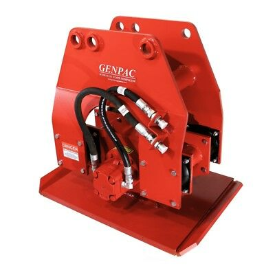 Genpac Hydraulic Plate Compactor Pile Driver Vinyl Sheet Driver