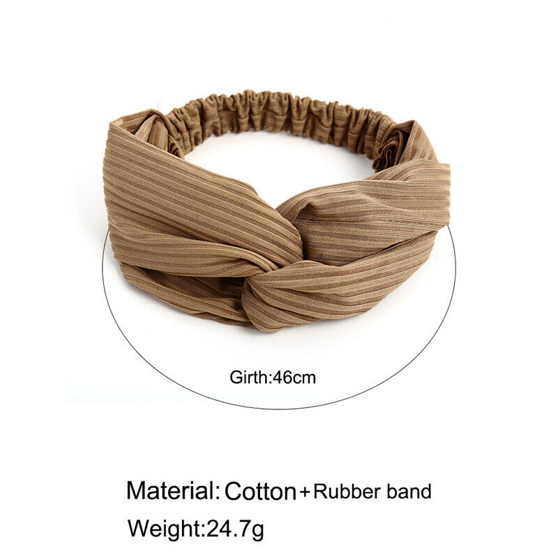 Fashion Women Turban Twist Knot Head Wrap Headband Twisted Knotted Hair Band Clothing, Shoes & Accessories
