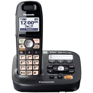 Panasonic KX TG6642B DECT 6.0 Cordless Phone with Anwering Syste