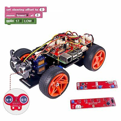 SunFounder PiCar-S Kit for Raspberry Pi 3/2/B+ Smart Robot C