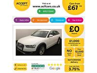 White AUDI A4 ALLROAD ESTATE 1.8 2.0 TDI Diesel S LINE QUATTRO FROM £67 PER WEEK