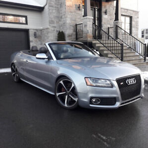 Audi S5 convertible, intégrale, une taxe, look RS5