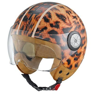 Motorradhelm Held Mc Corry Leo Jet-/Roller-/Scooterhelm Größen XS-XL UVP 199,- € online kaufen