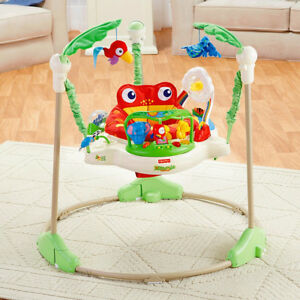 Fisher Price Deluxe Jumparoo-Rain Forest Theme -