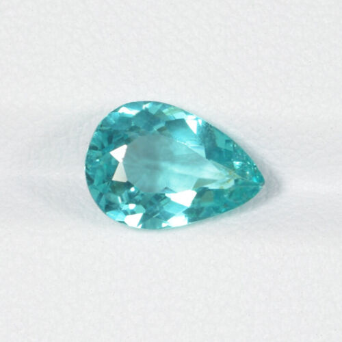 2.13 ct TOP GRADE LUSTROUS - BLUEISH GREEN - NATURAL APATITE Pear See Vdo 8705