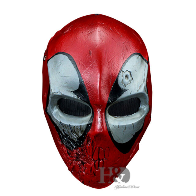 high grade resin deadpool mask collectible statue movie halloween costume props - Costume Props
