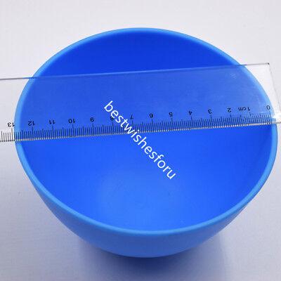 13 Cm Dental Plastic Mixing Flexible Spatulas Alginate Rubber Bowl Extra Large