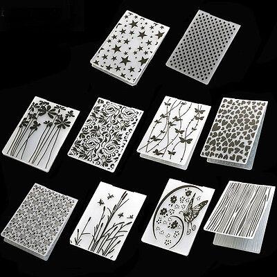 Card Decorations (Fashion Plastic Embossing Folders Card Making Decoration)