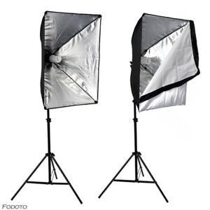 Photography & Video Continuous Softbox Starter Lighting Kit