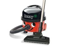 Henry Hoover Model HVR 200A with tools and spare dust bags