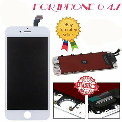 "For iPhone 6 4.7"" Screen LCD Touch Replacement Display Assembly Digitizer White"
