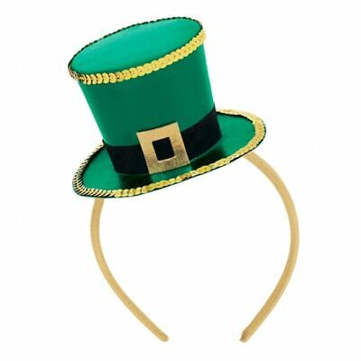 Headband Green Ireland Top Hats St Patricks Day Irish Hairband Party Supplies