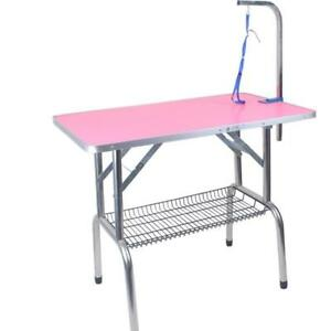 Large Foldable Pet Dog Cat Grooming Table Pet supplies 239047