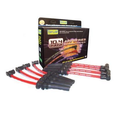 Taylor Spark Plug Wire Set 79210; 409 Pro Race 10.4mm Red for Dodge 5.7L HEMI Hemi Spark Plug Wires
