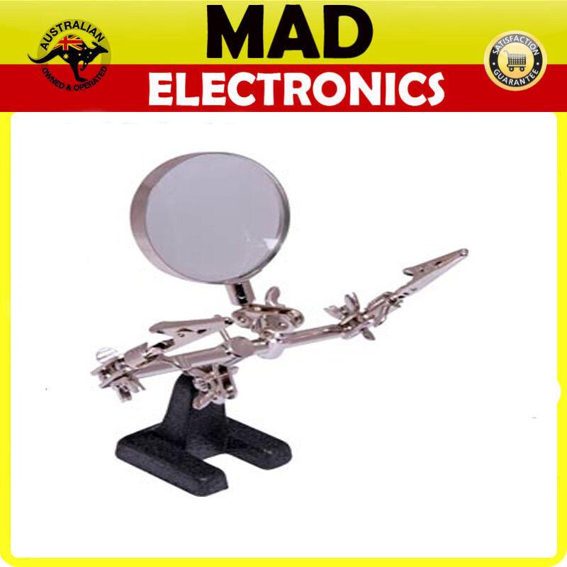 PCB Holder Solder Stand & Magnifier