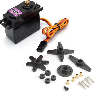 Mg996r Metal Gear Servo Motor Big Torque Kit For Rc Helicopter Car Robot Arduino