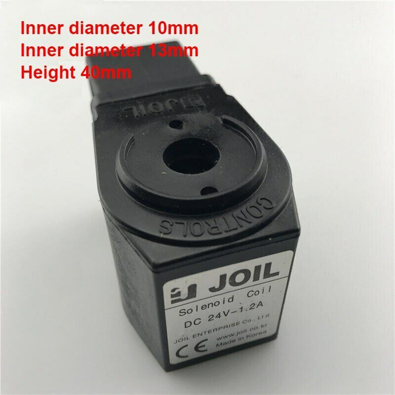 JOIL type Solenoid valve coil Upper bore size 10mm Lowerbore size 13mm height 40