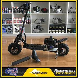 NEW Assassin USA 71cc 3 Speed Petrol Gas Scooter Adult Kids NOT Taren Point Sutherland Area Preview
