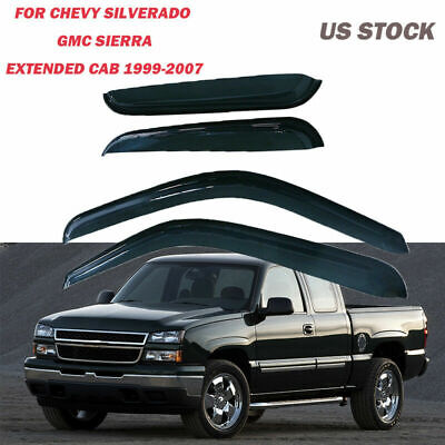 US Window Deflector Visor Vent Shade Guard for GMC Sierra 2001-2007 Vehicle G8QX