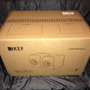 **KEF LS50 SPEAKERS BRAND NEW IN BOX ONLY 2450111!!**