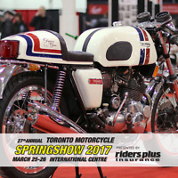 Toronto Motorcycle SPRINGSHOW presented by Riders Plus Insurance