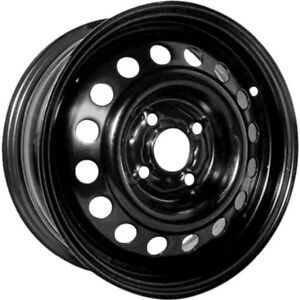 "15"" Black steel wheels for winter tires"