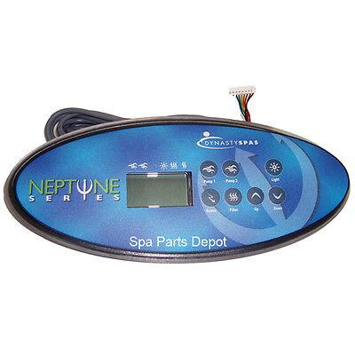 - Dynasty Spa Control Panel, K52, 2 Pump