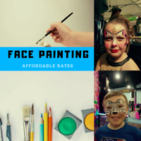 Christmas Face Painting for any event! Affordable & CUTE !