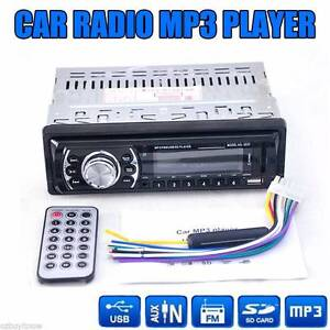Car In-Dash Stereo Audio FM Aux Input Receiver SD USB MP3 RADIO Nunawading Whitehorse Area Preview
