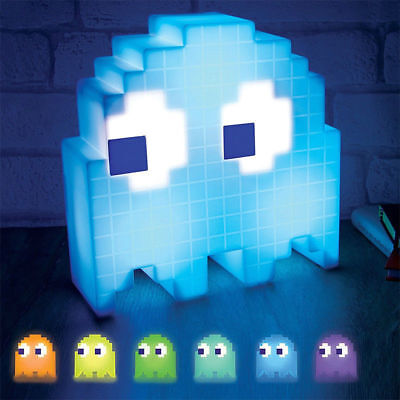 Pacman Ghost Lamp USB Pac-man Game Theme Colorful Decoration LED Night Light