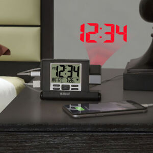 The Travel Projection Alarm Clock