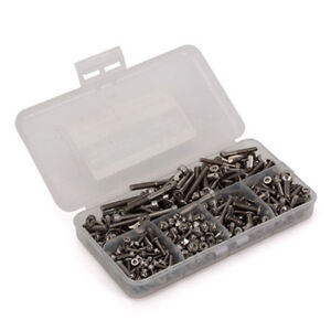 RC CARS STAINLESS STEEL ASSORTMENT SCREW KIT
