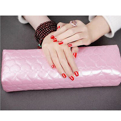 Half Hand Cushion Rest Pillow Nail Art Design Manicure Care Salon Soft Column ts