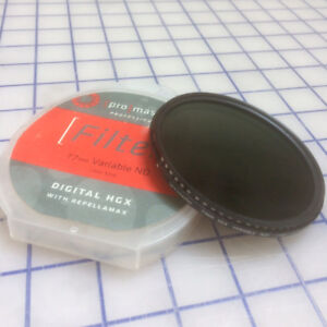 Variable ND Filter 77mm ProMaster HGX