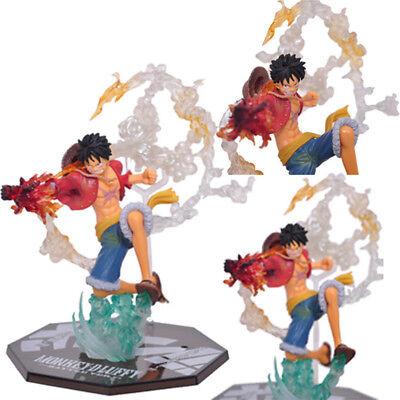 Anime One Piece Monkey D Luffy Battle version Figure PVC Model Toy Gift 16CM