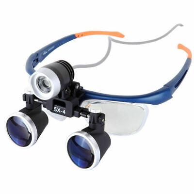 New 3.5x-4 Medical Surgical Loupe Magnifier Dental Surgery Headlight Headlamp