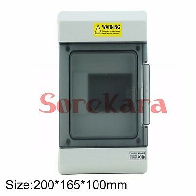 6 Way Ip66 Weatherproof Electrical Household Distribution Enclosure Switch