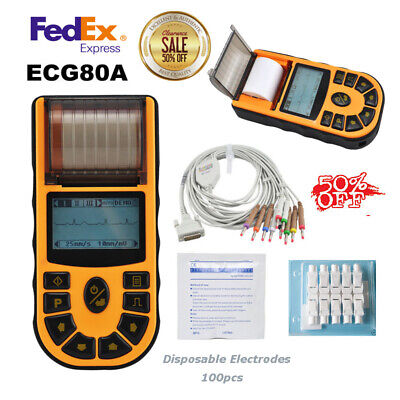 Contec Ecg80a Portable Hand-held Single Channel Ecg Ekg Machine Wsoftwareusa