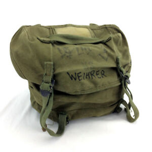 US Army Combat Field Butt Pack Vietnam War Used USMC Cargo Bag
