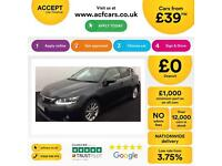 LEXUS CT 200H 1.8 F-SPORT ADVANCE PLUS LUXURY SE PREMIER FROM £39 PER WEEK!
