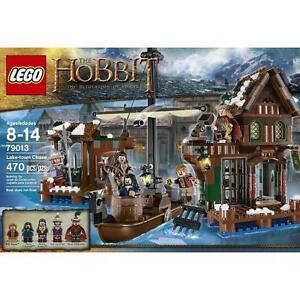 NEW Lego The Hobbit The Desolation of Smaug Lake Town Chase 79013 Distressed Box