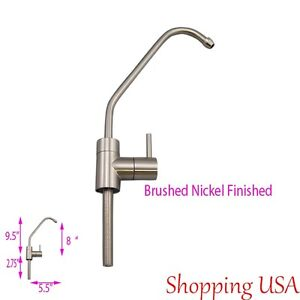 water filter faucet brushed nickel ebay. Black Bedroom Furniture Sets. Home Design Ideas